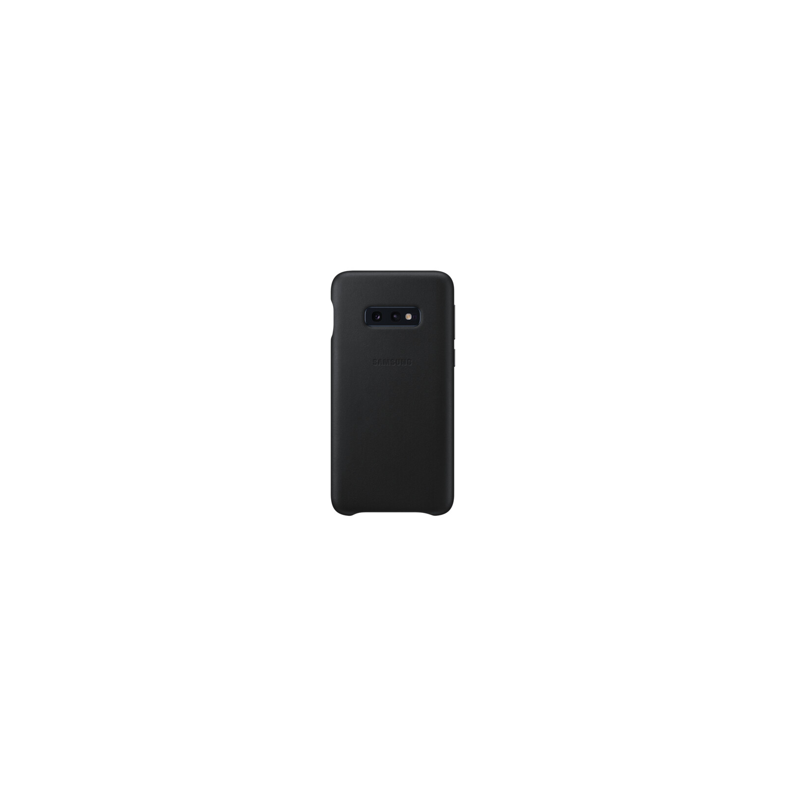 Samsung Back Cover Leather Galaxy S10e schwarz