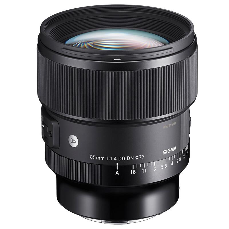 Sigma 85/1,4 DG DN L-Mount + UV Filter
