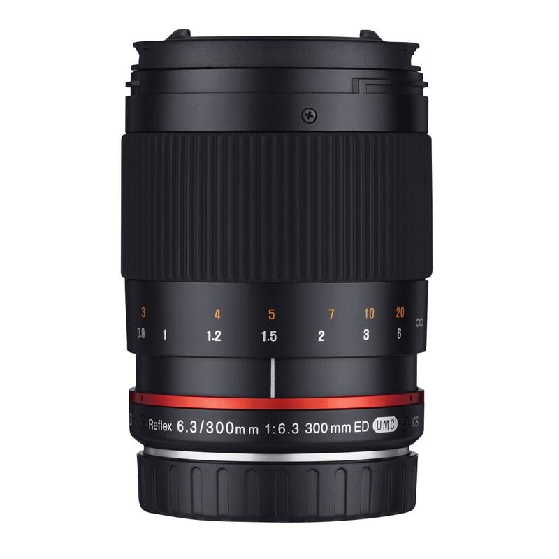 Samyang MF 300/6,3 Fuji X schwarz