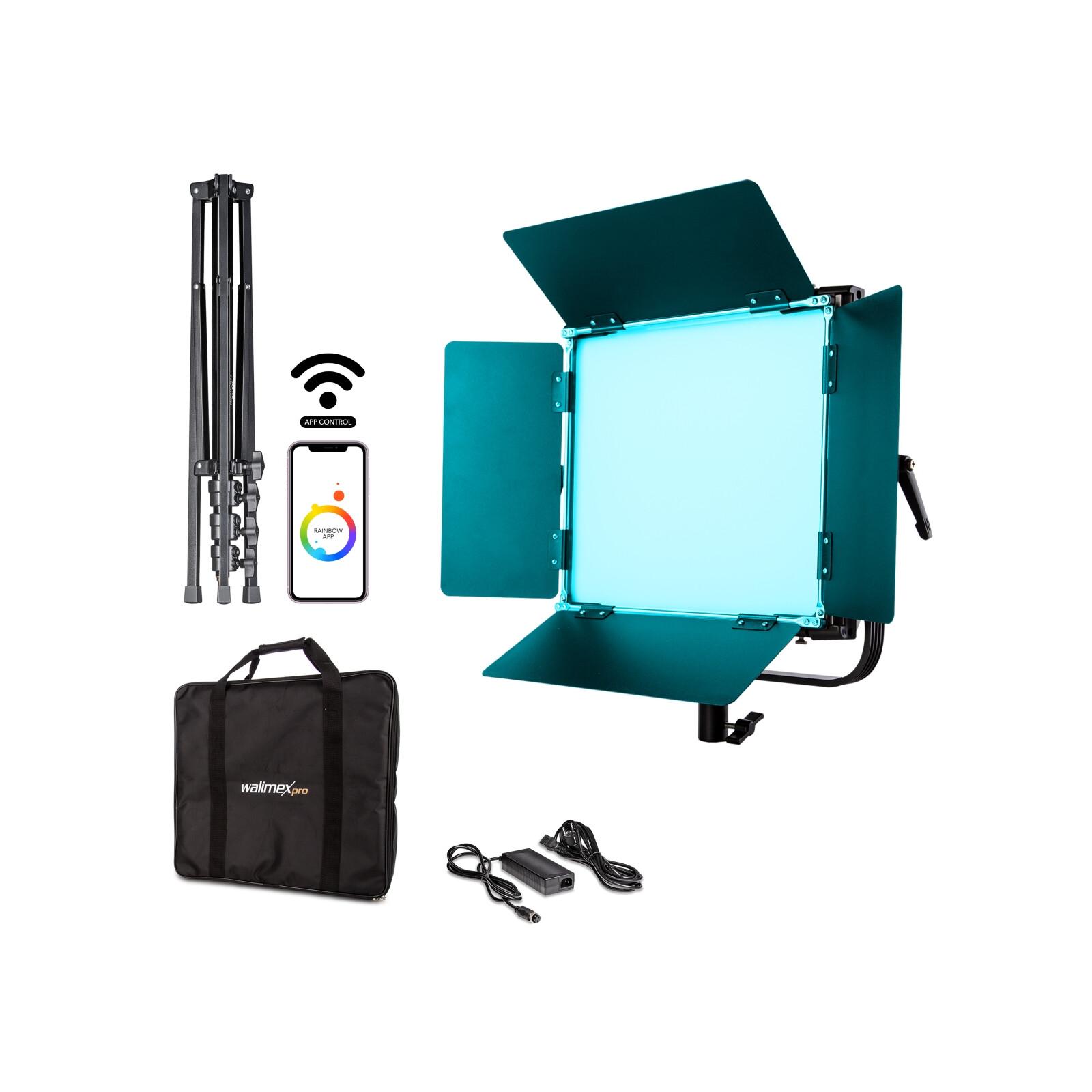 Walimex pro LED Rainbow 100W RGBWW Set 1 (1x Rainbow 100W, 1