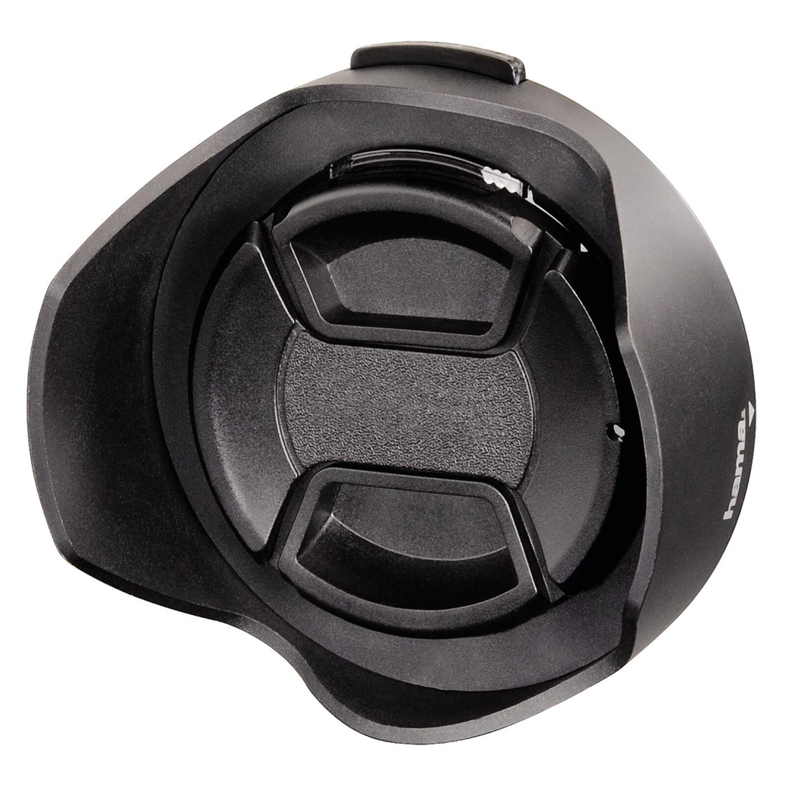 Hama 93655 Gegenlichtblende 55mm mit Objektivdeckel