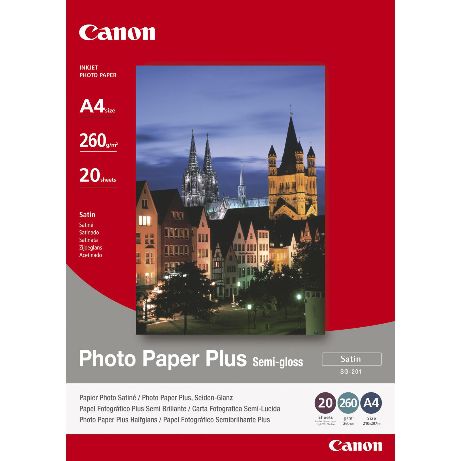 Canon SG-201 A4 20Bl 260g semigloss