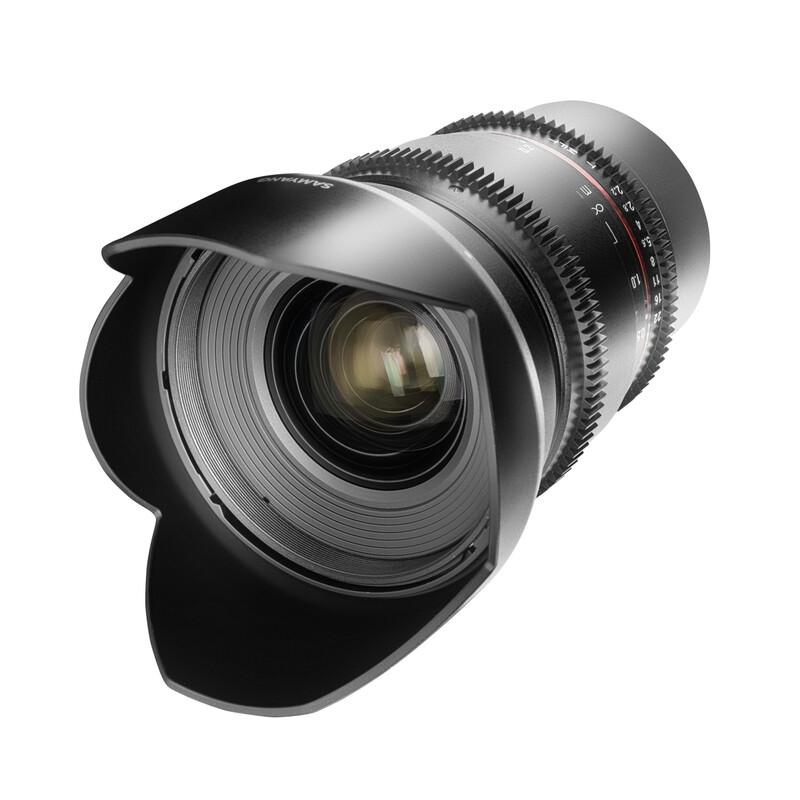 Samyang MF 16/2,2 Video APS-C II MFT