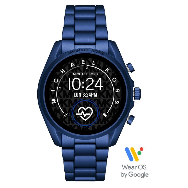 Michael Kors Smartwatch Bradshaw 2 blau