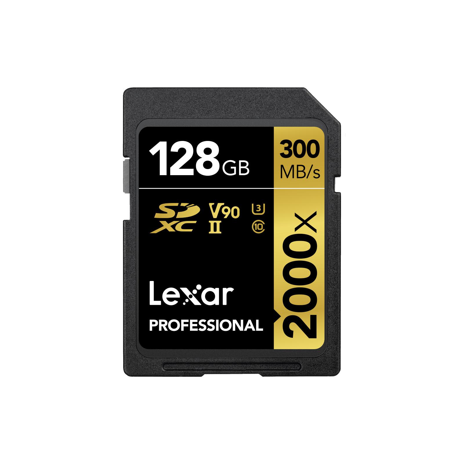 Lexar SDHC 128GB Professional UHS II 300Mb/s