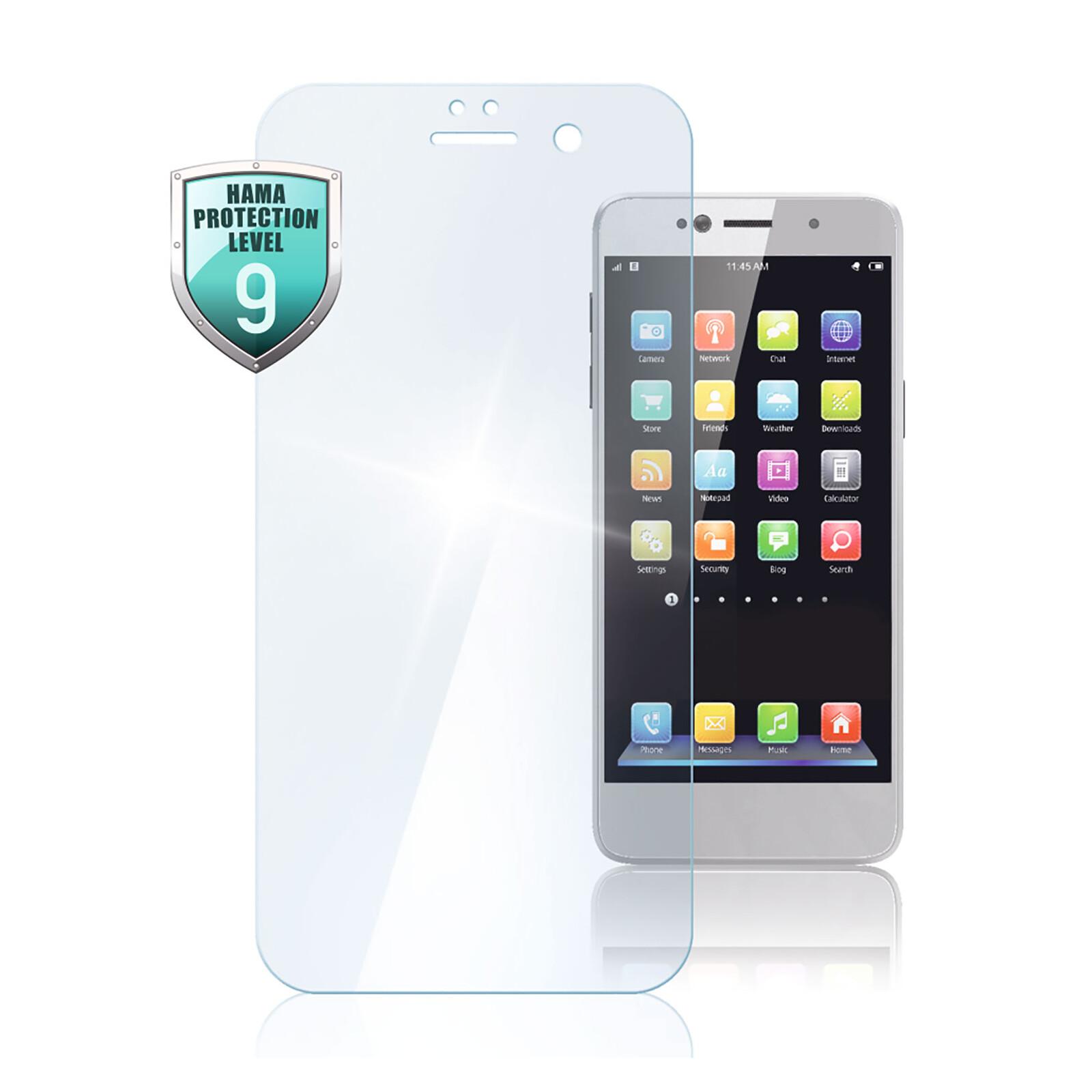 Hama Displayschutzglas Huawei Y6 2019/Y6s/Honor 10 Lite