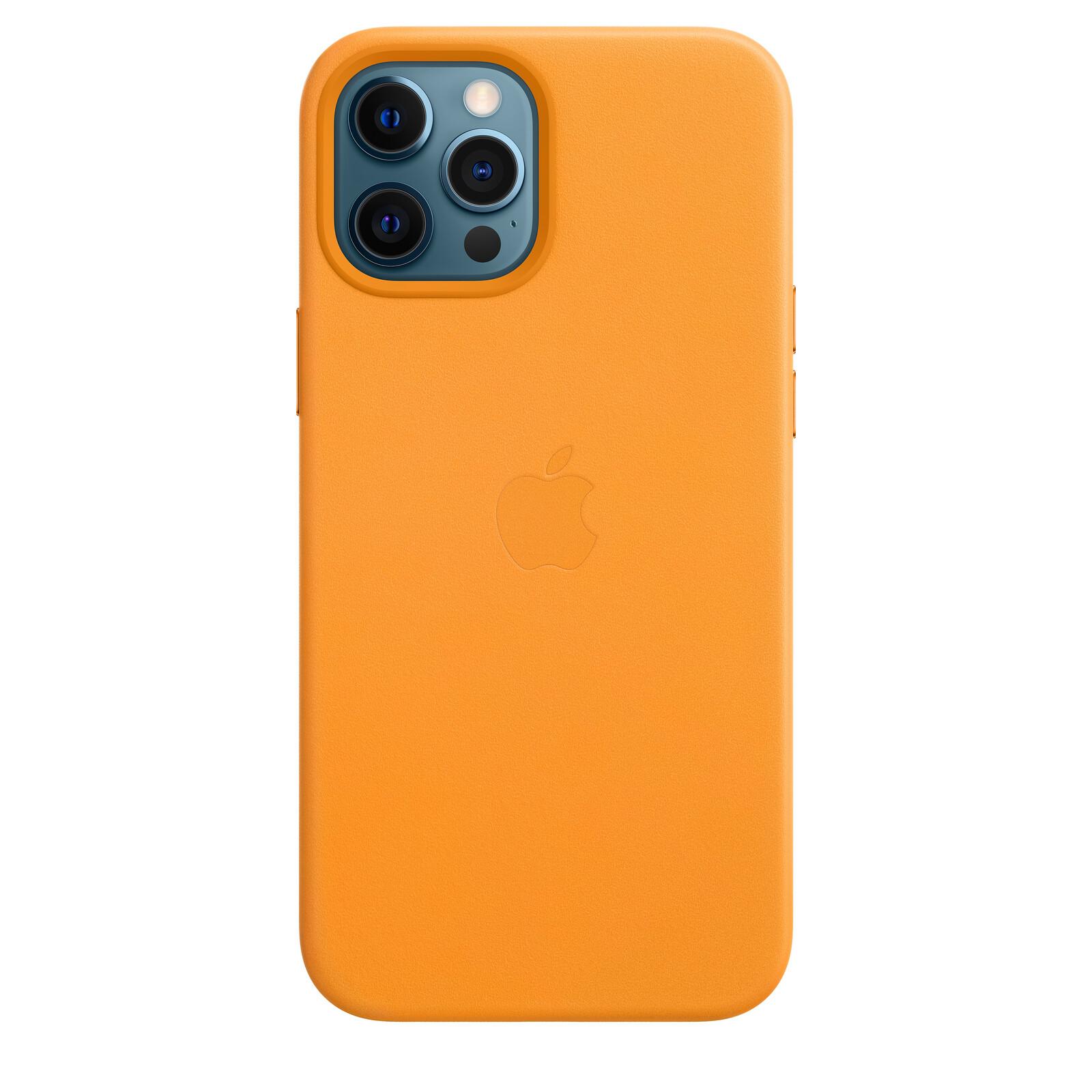 Apple iPhone 12/12 Pro Max Leder Case mit MagSafe california