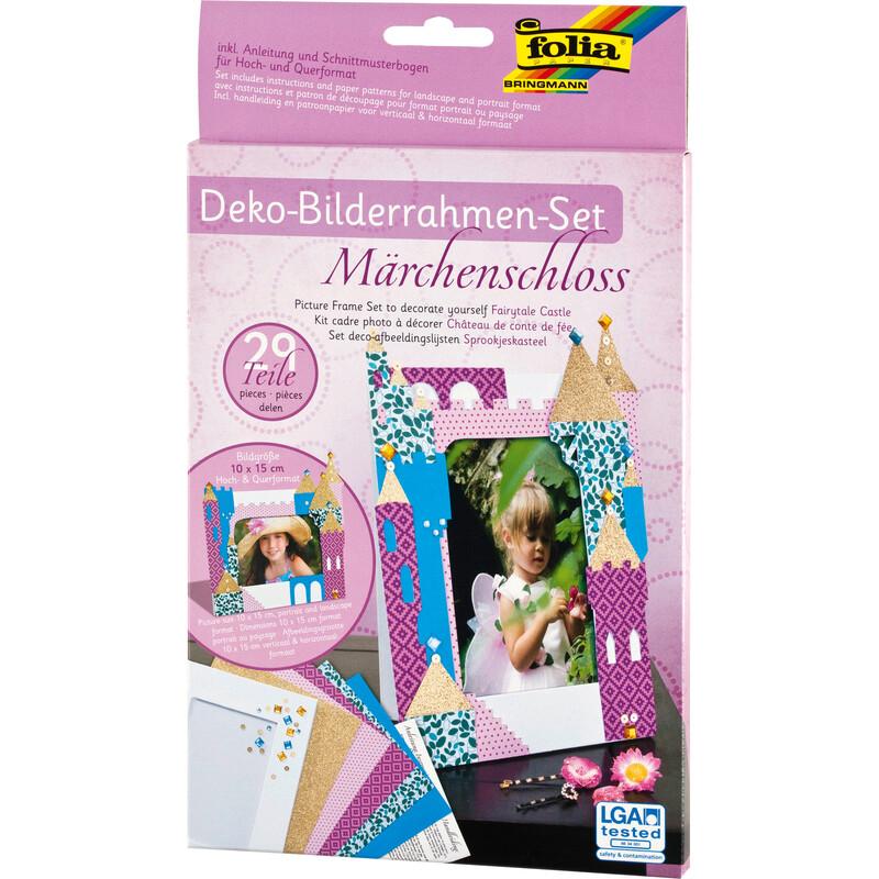 Folia Bilderrahmen-Set Märchenschloss