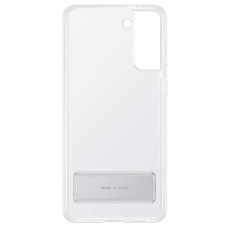 Samsung Back Cover Standing Galaxy S21+ clear