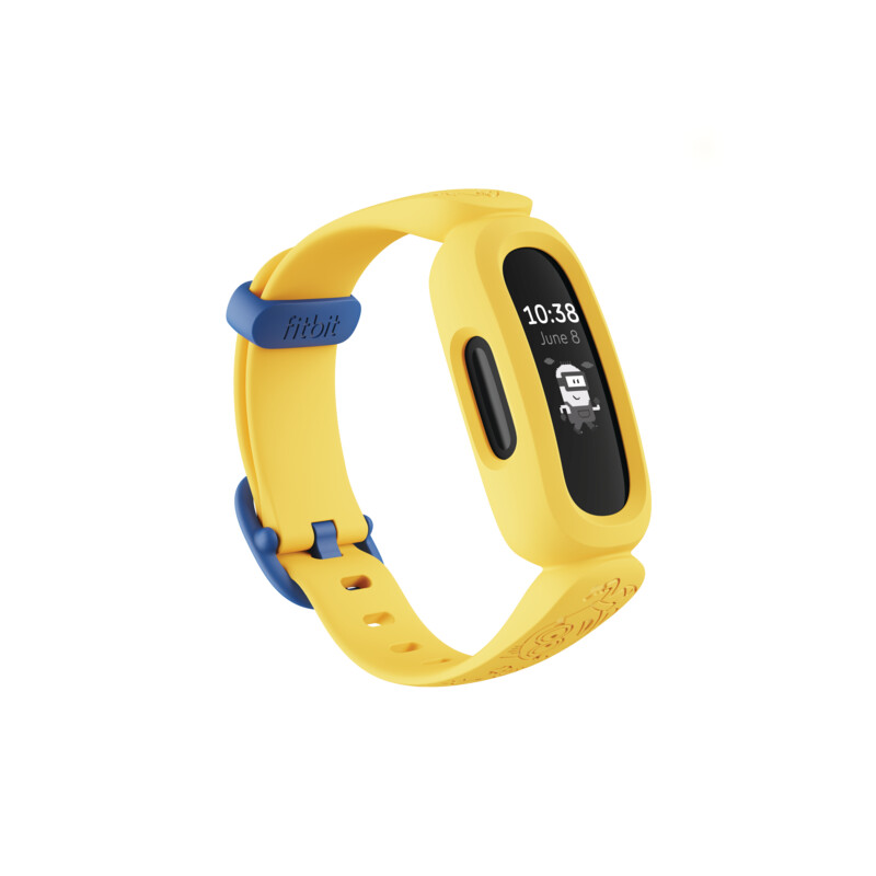 Fitbit Ace 3 Black/Minions Yellow