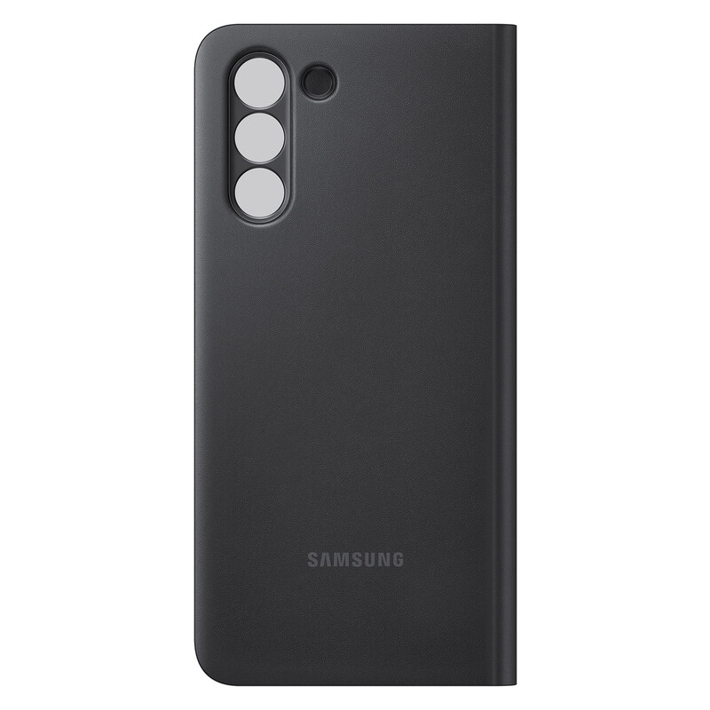 Samsung Back Cover Clear View Galaxy S21 black