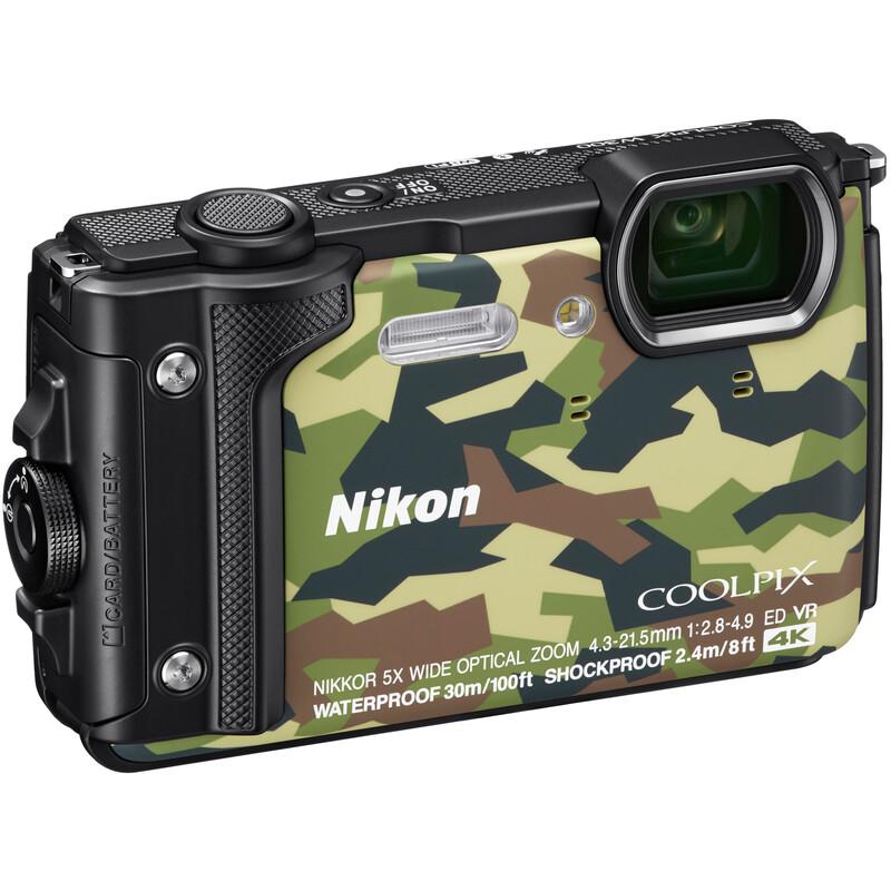 Nikon Coolpix W300 Holiday Kit camouflage