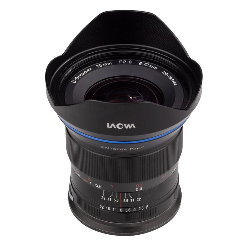 LAOWA 15/2.0 Zero-D Nikon Z + UV Filter