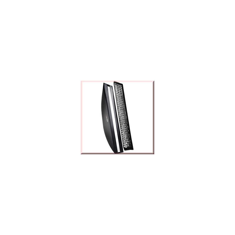 walimex pro Softbox PLUS OL 25x180cm Broncolor