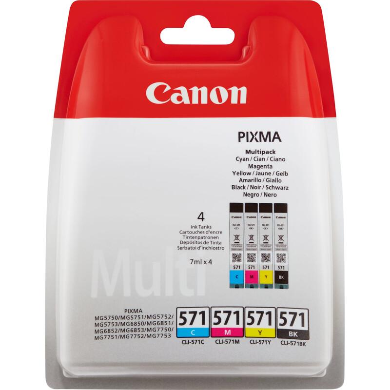 Canon CLI-571CMYBK Tinte Color