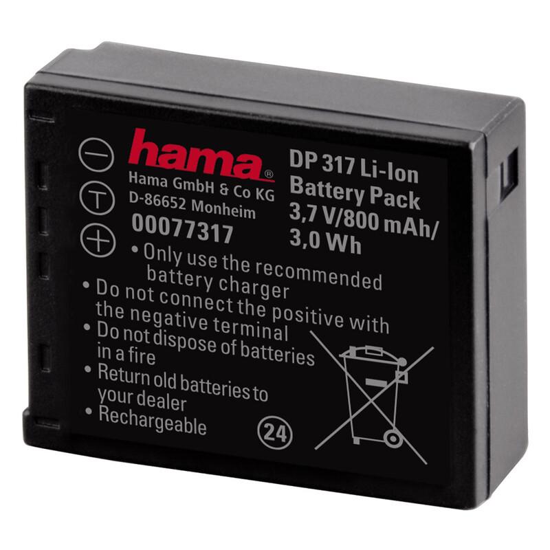 Hama 77317 Akku DP 317 Panasonic CGA-S007E