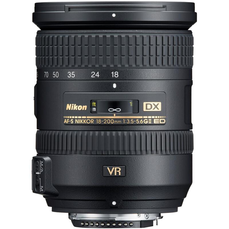 Nikkor AF-S 18-200/3,5-5,6G ED VRII