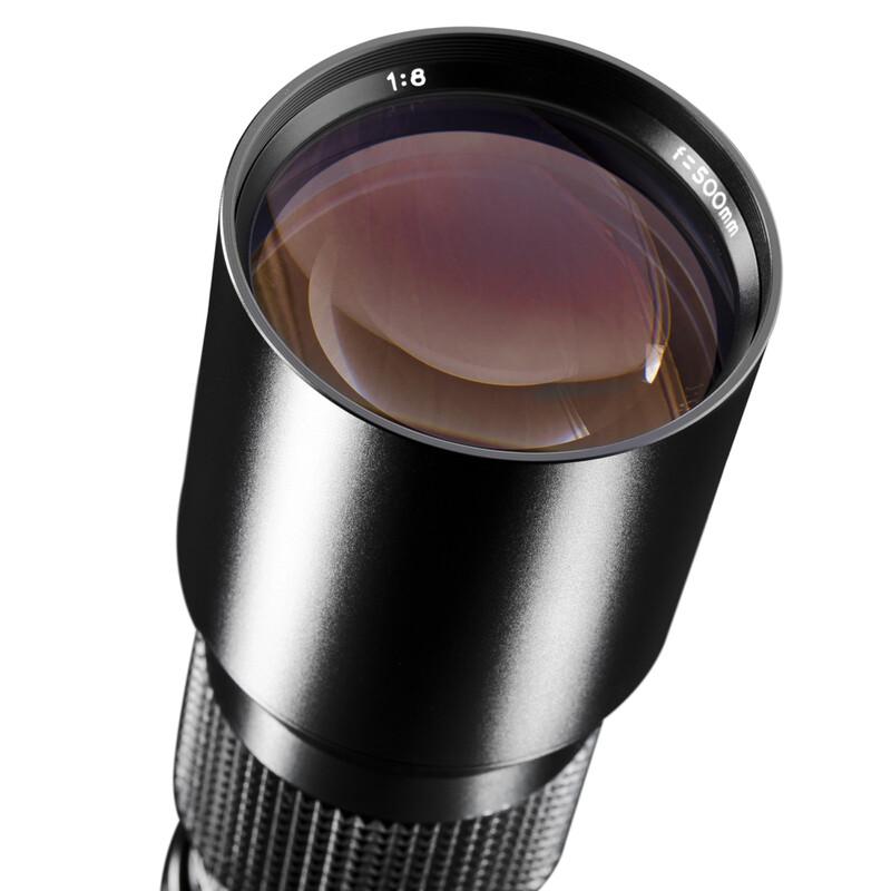 walimex 16809 500/8,0 DSLR Sigma Schwarz + UV Filter