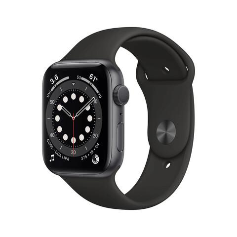 Apple Watch Series 6 Cellular Alu space grau 44mm schwarz