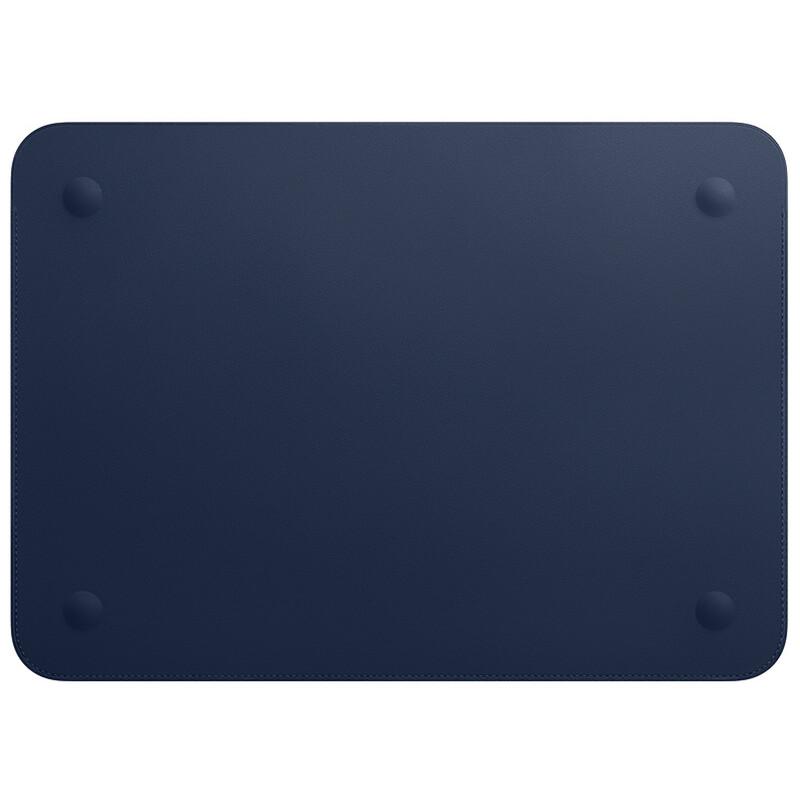 """Apple MacBook 12"""" Lederhülle mitternachtsblau"""