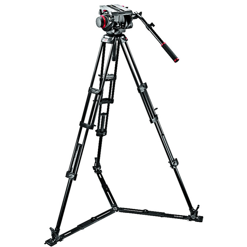 Manfrotto 509HD,545GBK Stativsystem mit Pro Fluid-Video-Neig