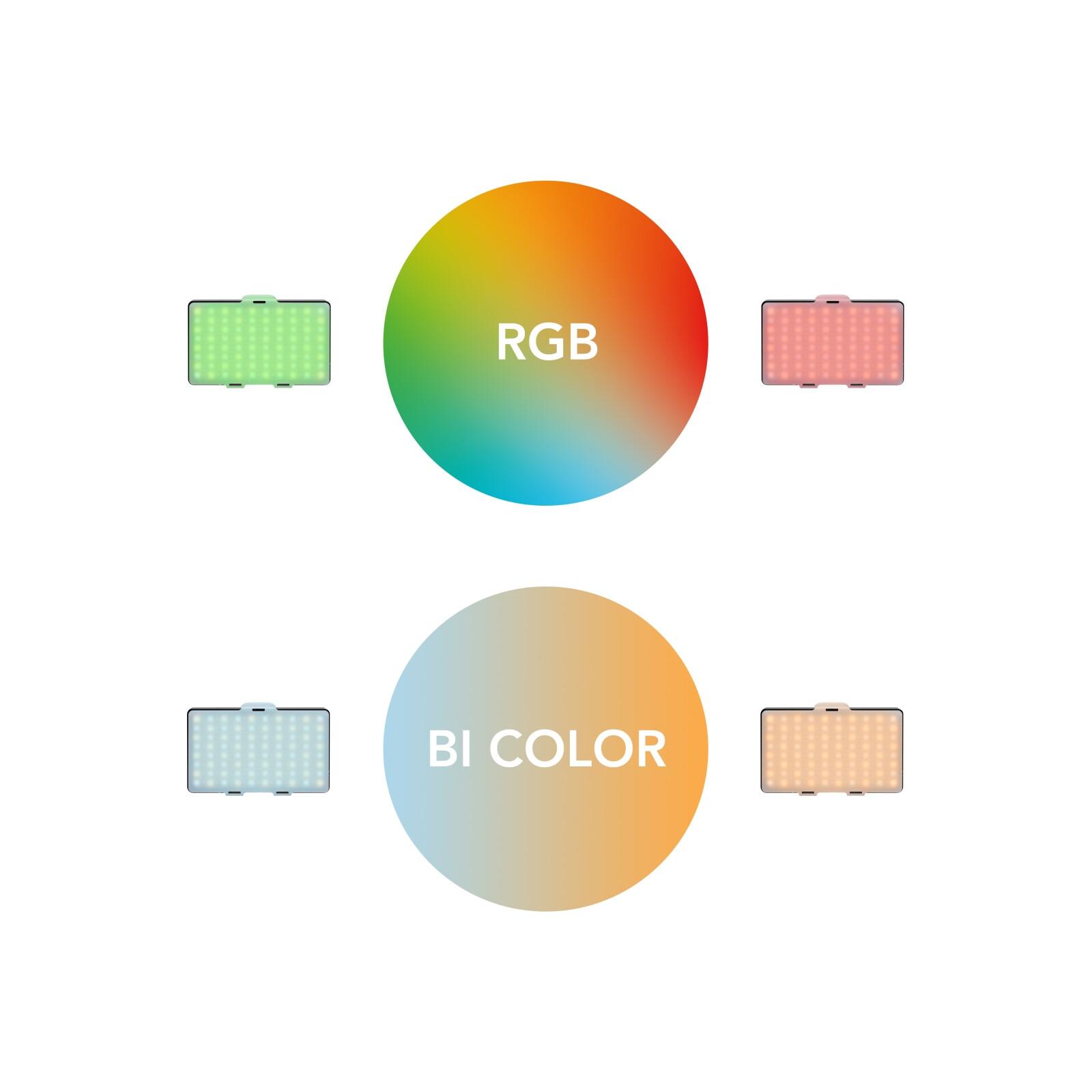 Walimex pro LED Rainbow Pocket RGBWW