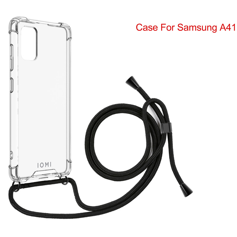 IOMI Back Crossbody Samsung Galaxy A41 inkl. Lanyards