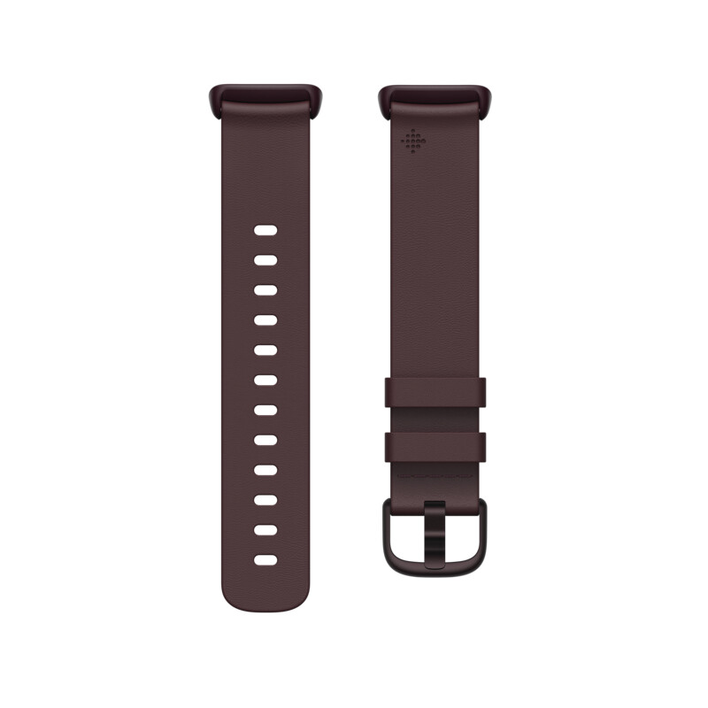 Ersatzband Fitbit Charge 5 Leder Band Plum Large