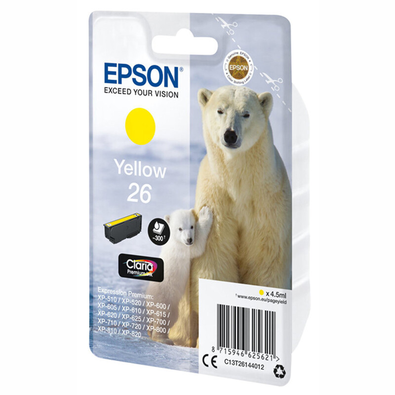 Epson T26144012 Tinte gelb 4.5ml
