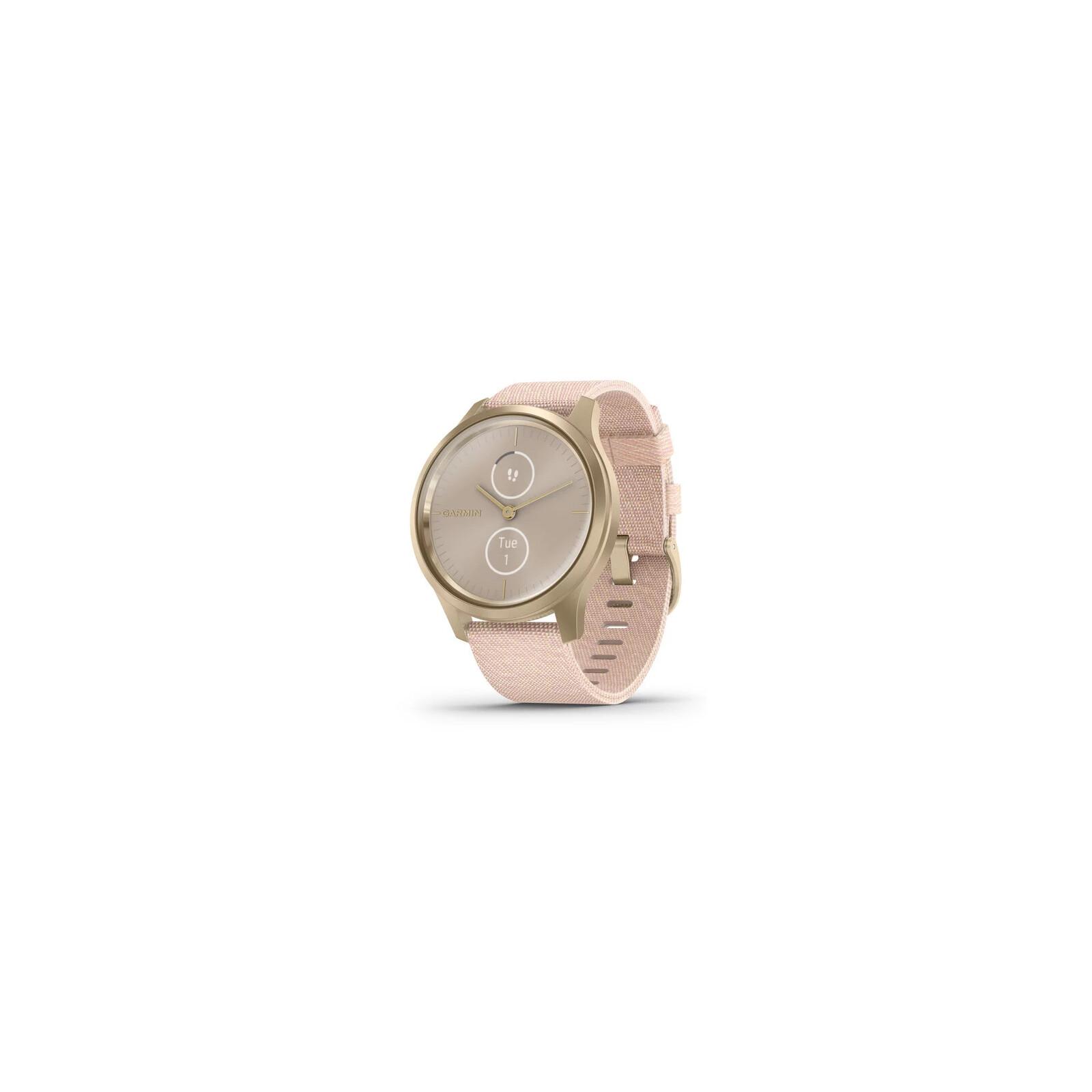 Garmin Vivomove Style 42mm Weißgold/Rosa