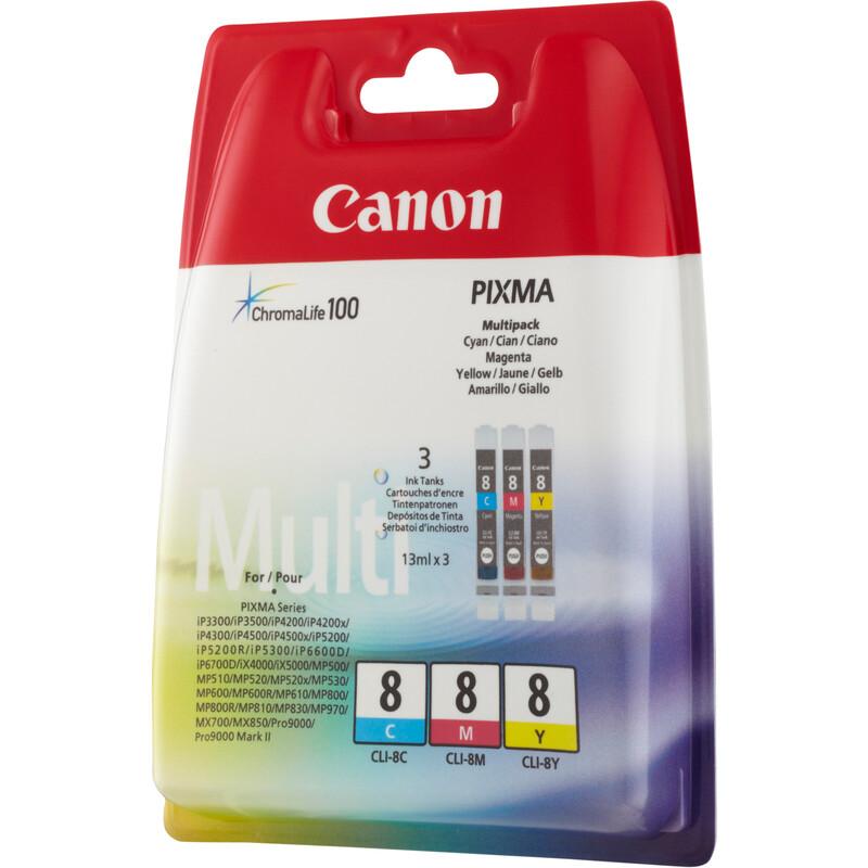 Canon CLI-8CMY Tinte Color