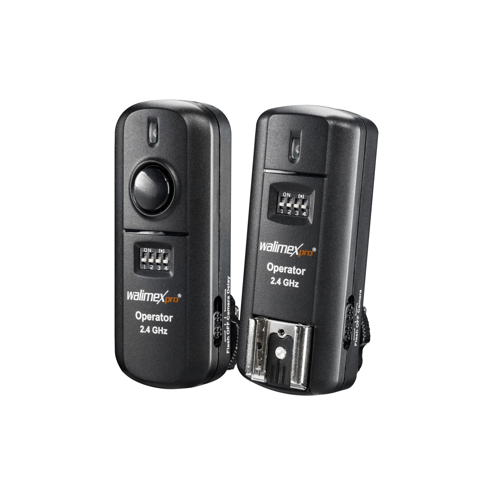 walimex pro 19945  Funkauslöser + Empfänger Nikon 2,4GHz