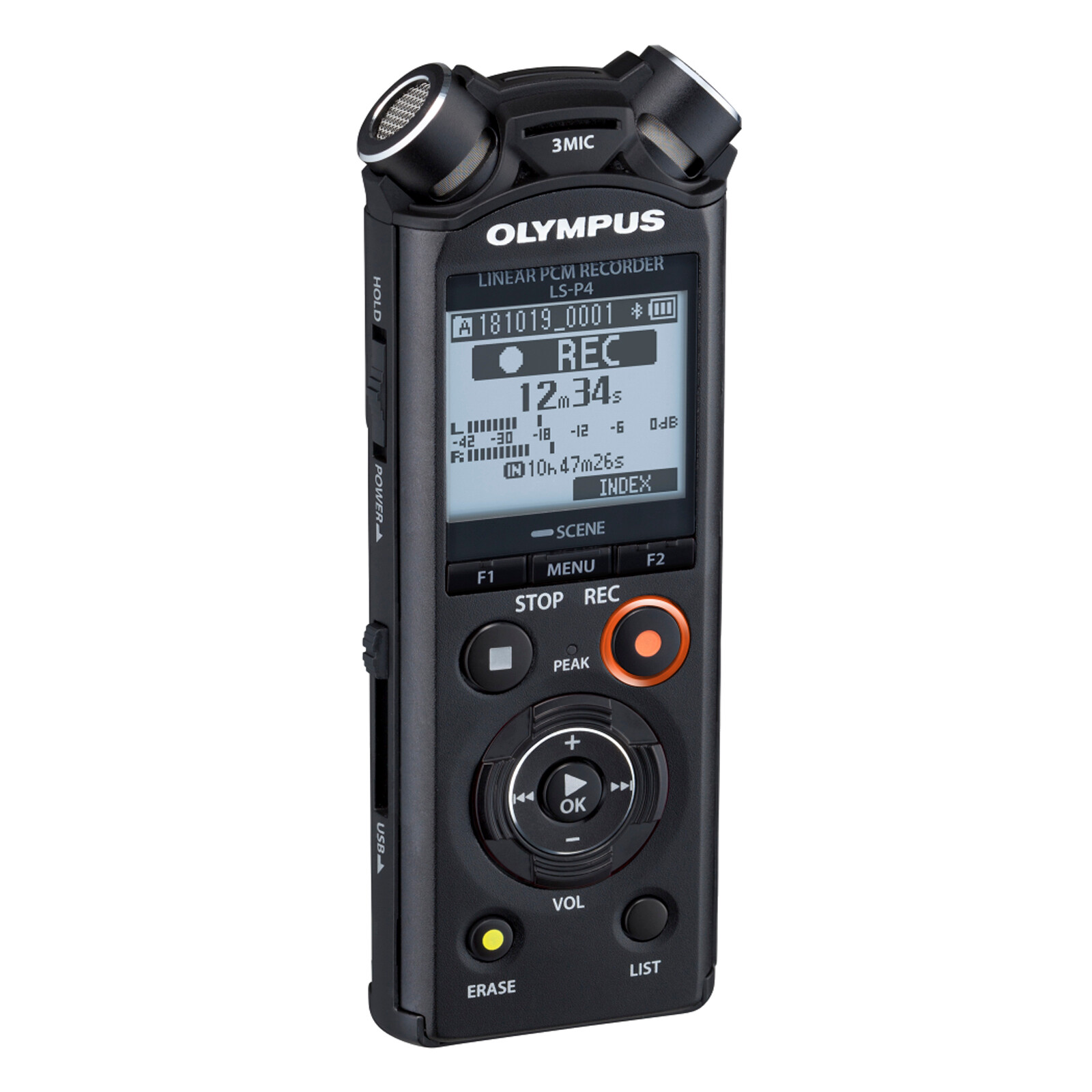 Olympus LS-P4 Diktiergerät