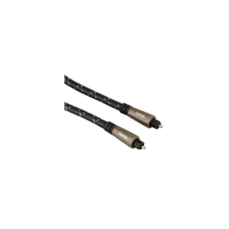 Hama 122263 Lichtleiter Audio Kabel 3m