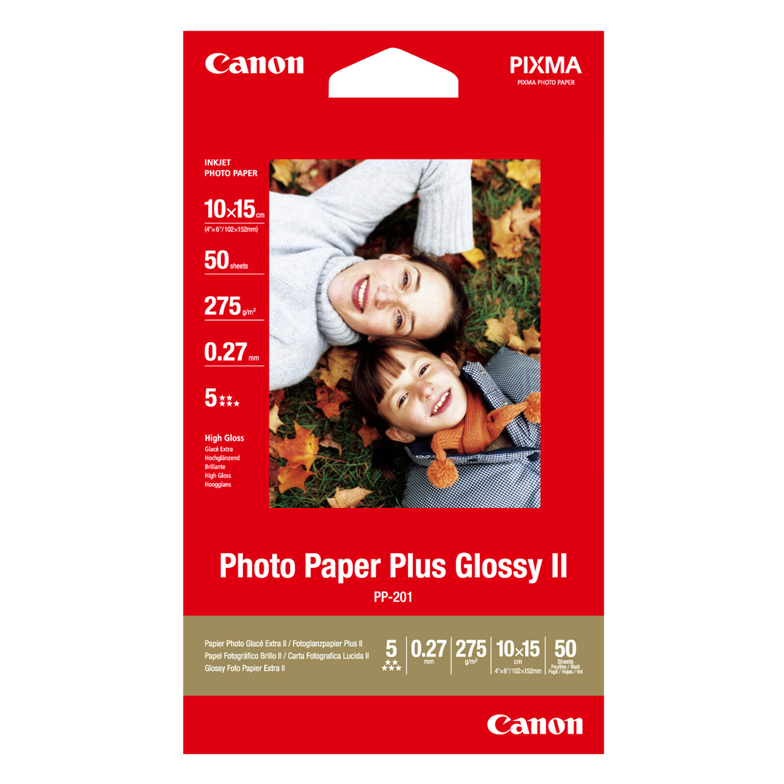Canon PP-201 10x15 50Bl 260g glossy