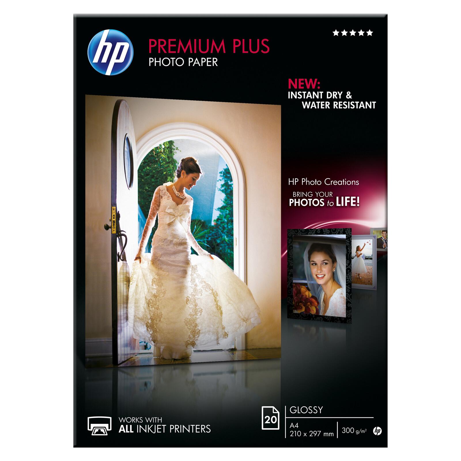 HP CR672A A4 glossy 20 Blatt 300g