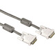 Hama 45076 DVI-Kabel Single Link, Ferritkern, doppelt geschi