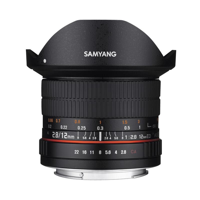 Samyang MF 12/2,8 Fisheye Canon M