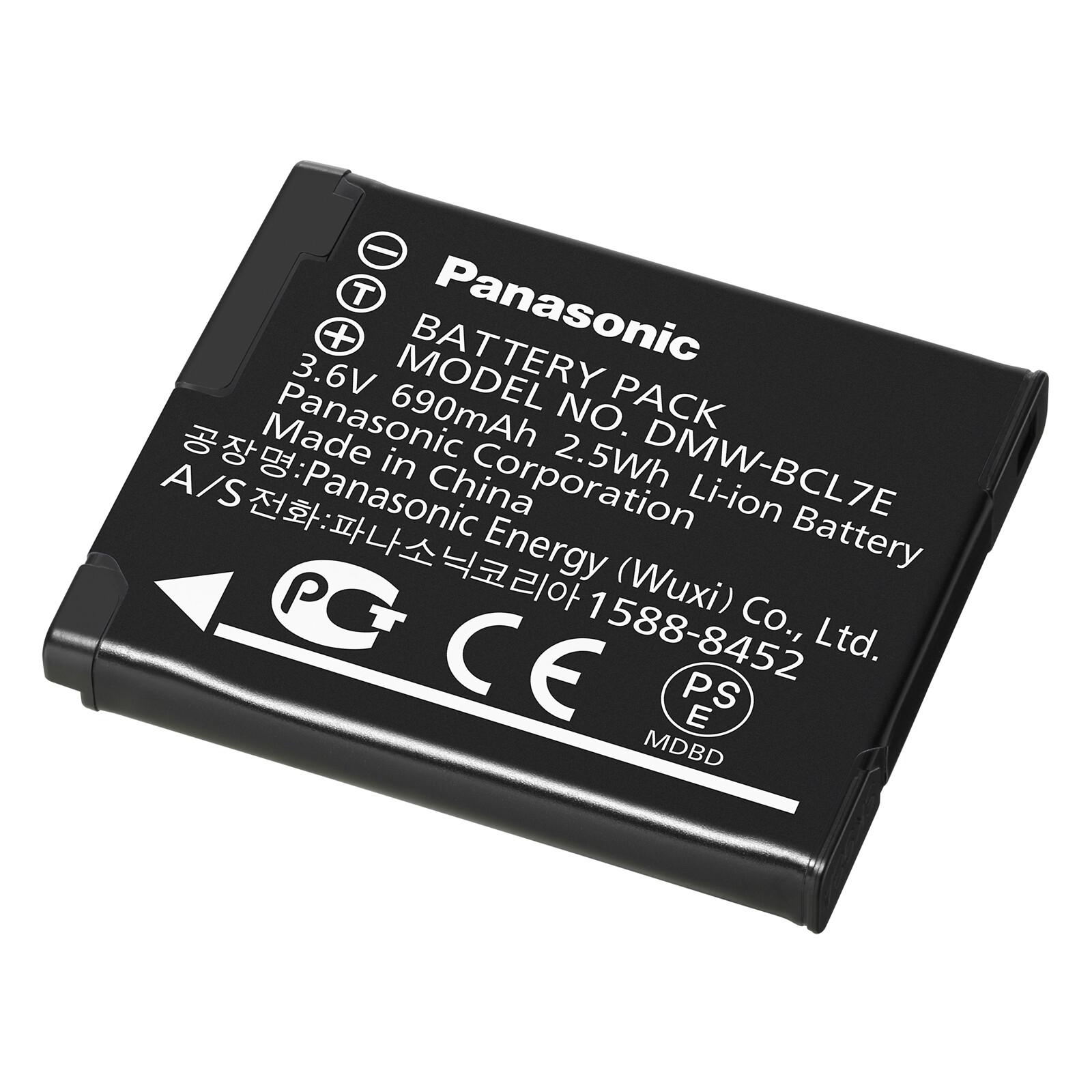 Panasonic Original Akku DMW-BCL7E 690mAh