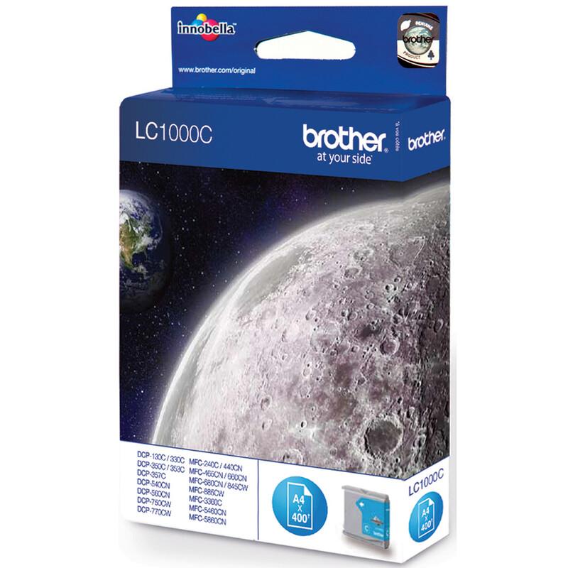 Brother LC-1000C Tinte cyan