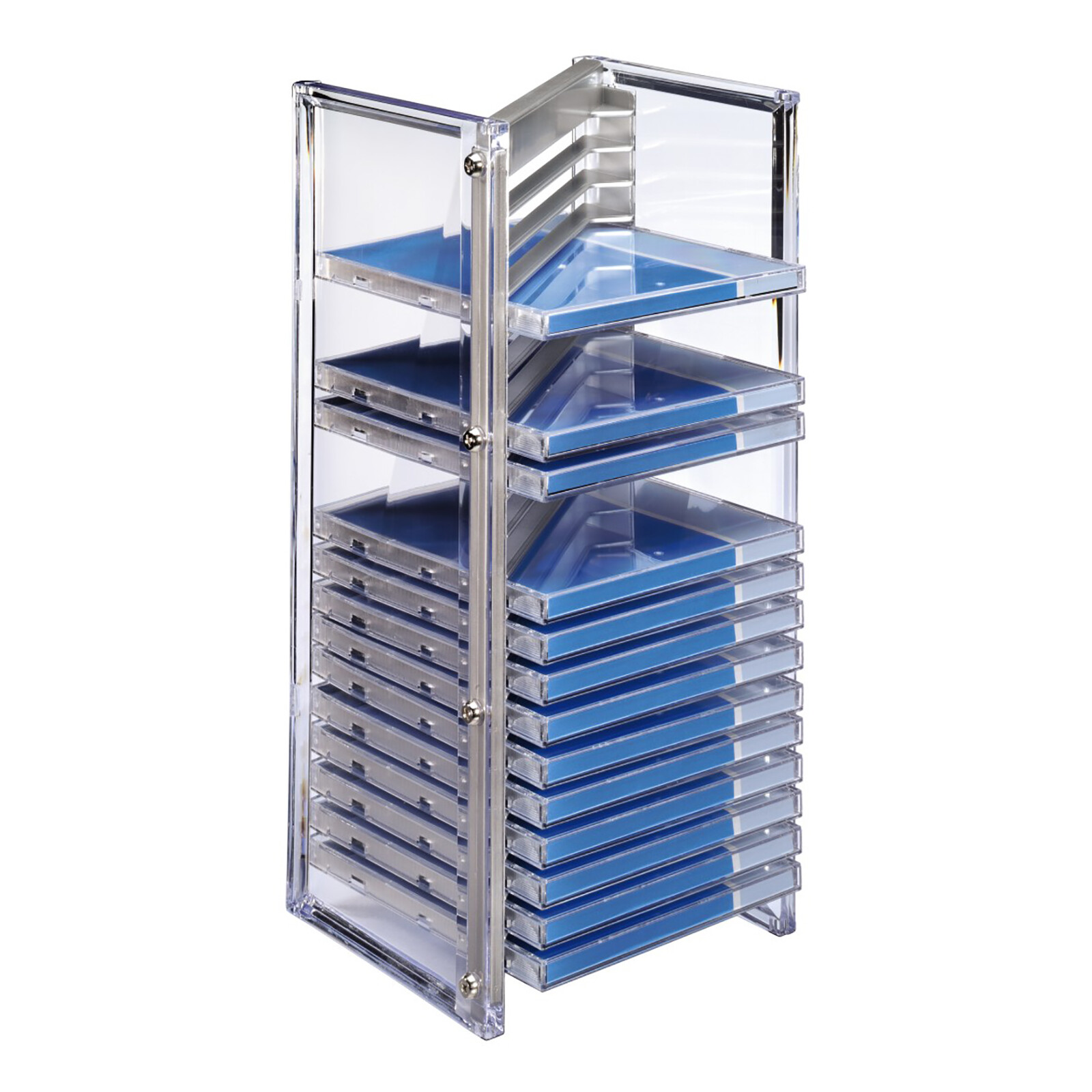 Hama 51136 CD-Office-Rack 20 silber