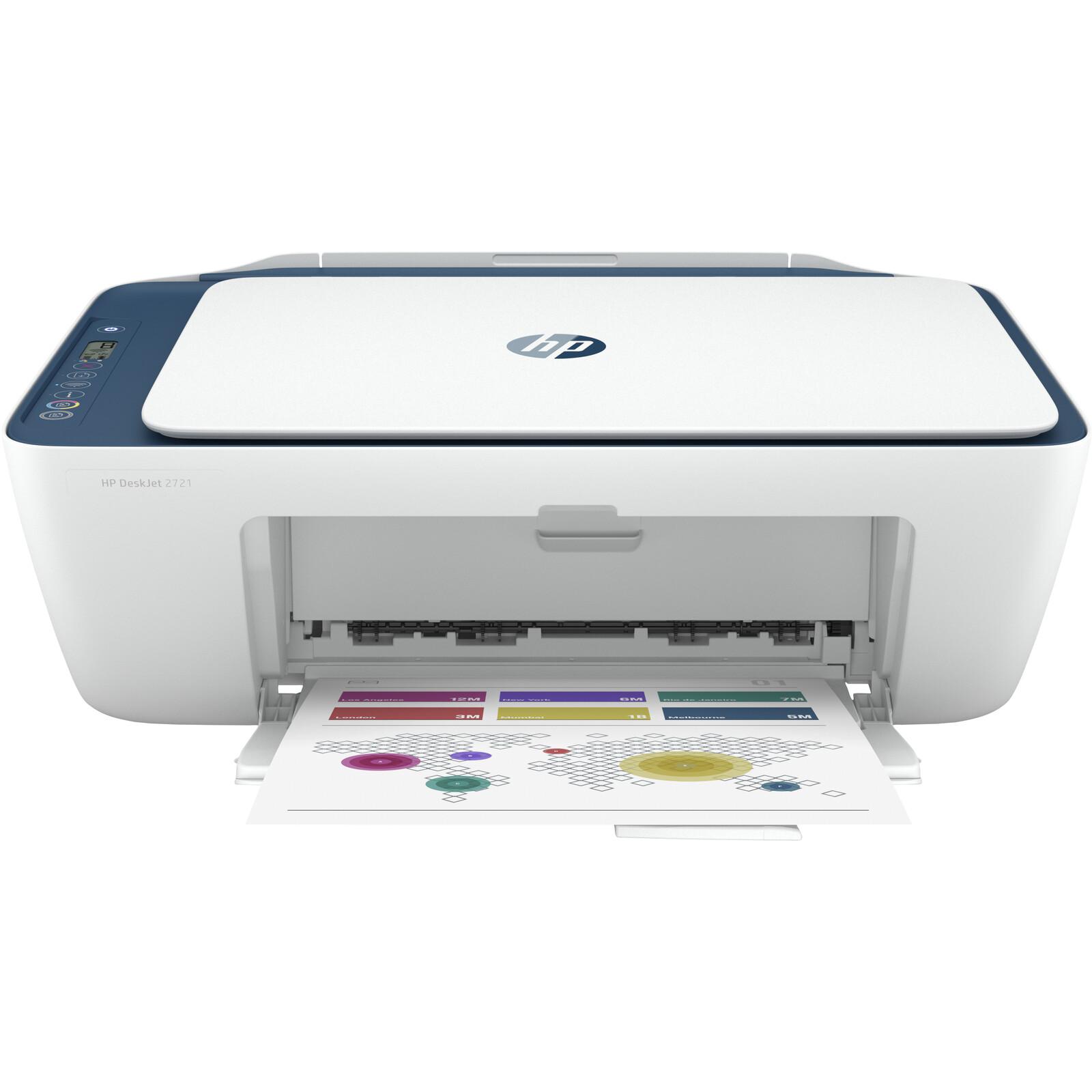 HP Deskjet 2721 All in One Drucker Drucken, Kopieren, Scan