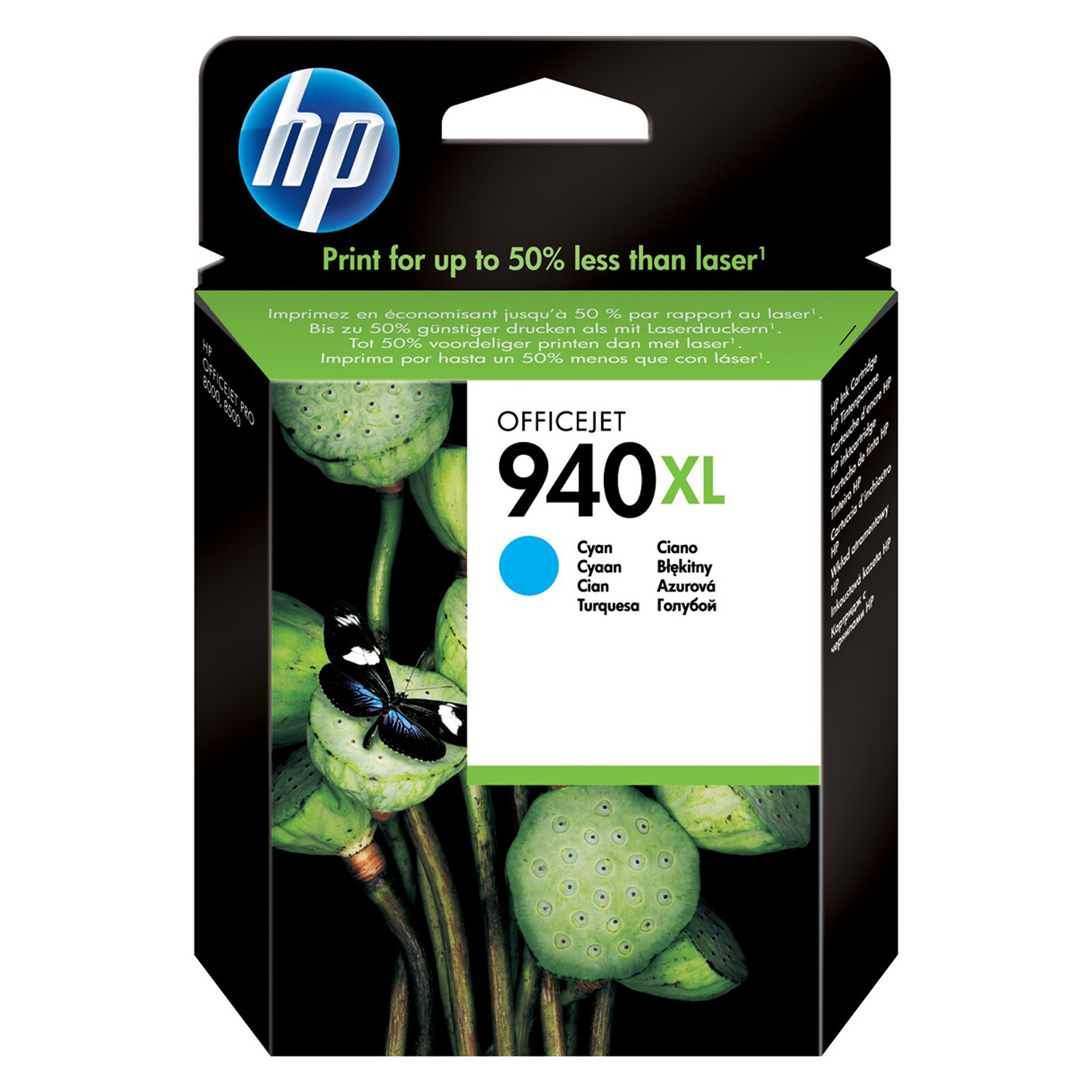 HP 940XL C4907AE Tinte cyan 28ml
