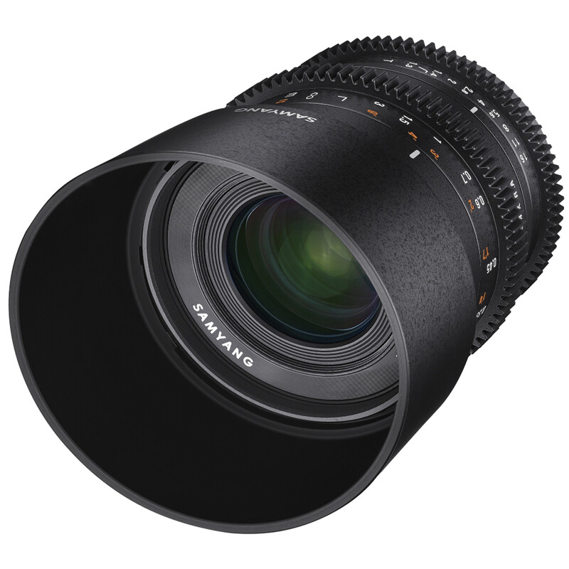 Samyang MF 35/1,3 Video APS-C Sony E