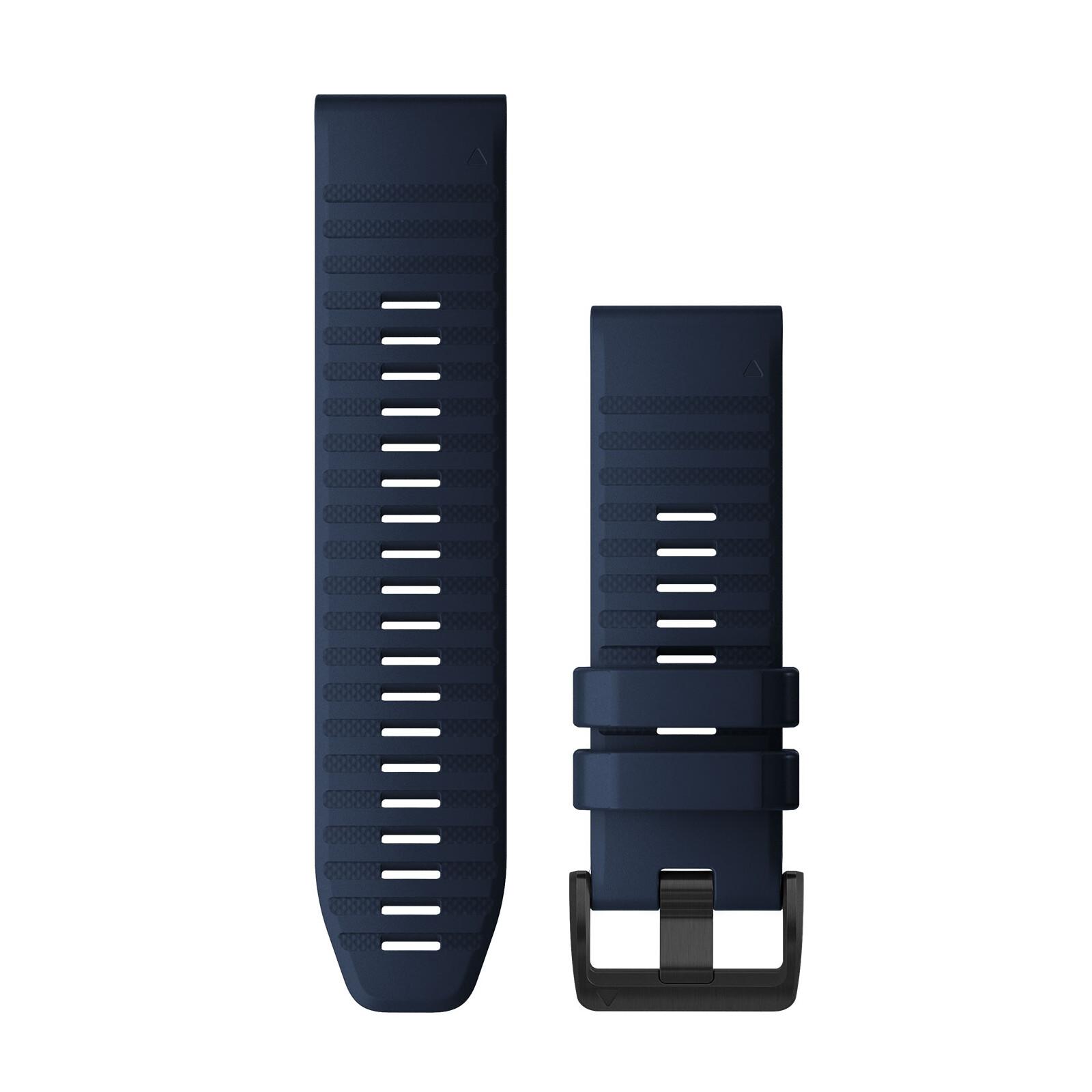 Garmin Quickfit Band 26mm Silikon königsblau schwarz