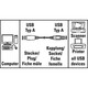 Hama 30619 USB 2.0 Verlängerung 1,8m