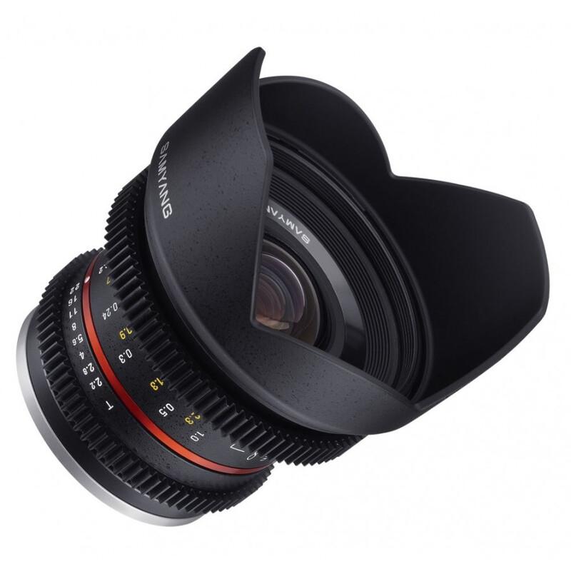 Samyang MF 12/2,2 Video APS-C Fuji X