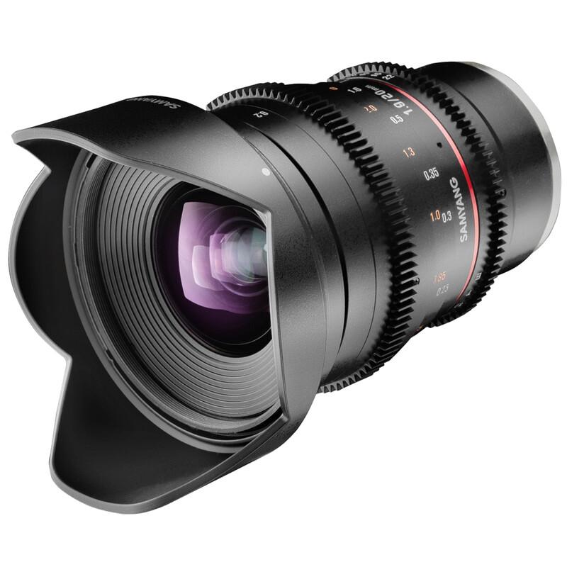 Samyang MF 20/1,9 Video DSLR Pentax K