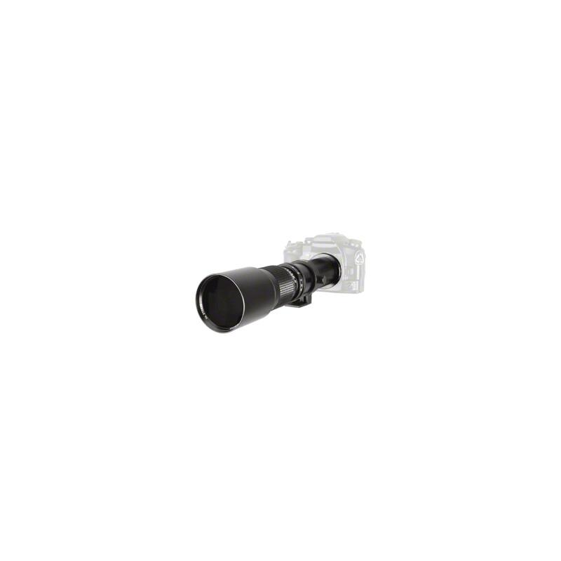 walimex 16866 500/8,0 DSLR C-Mount Schwarz + UV Filter