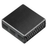 Hama 122243 Scart-Adapter Kupplung-Kupplung 21-polig